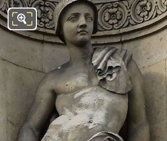 Le Berger Statue By Jean Bernard Duseigneur