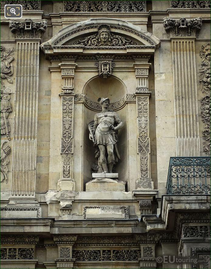 God Of War Statue Mars Grande Galerie