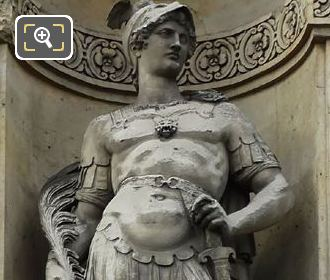 God Of War Statue Mars By Jean Petit