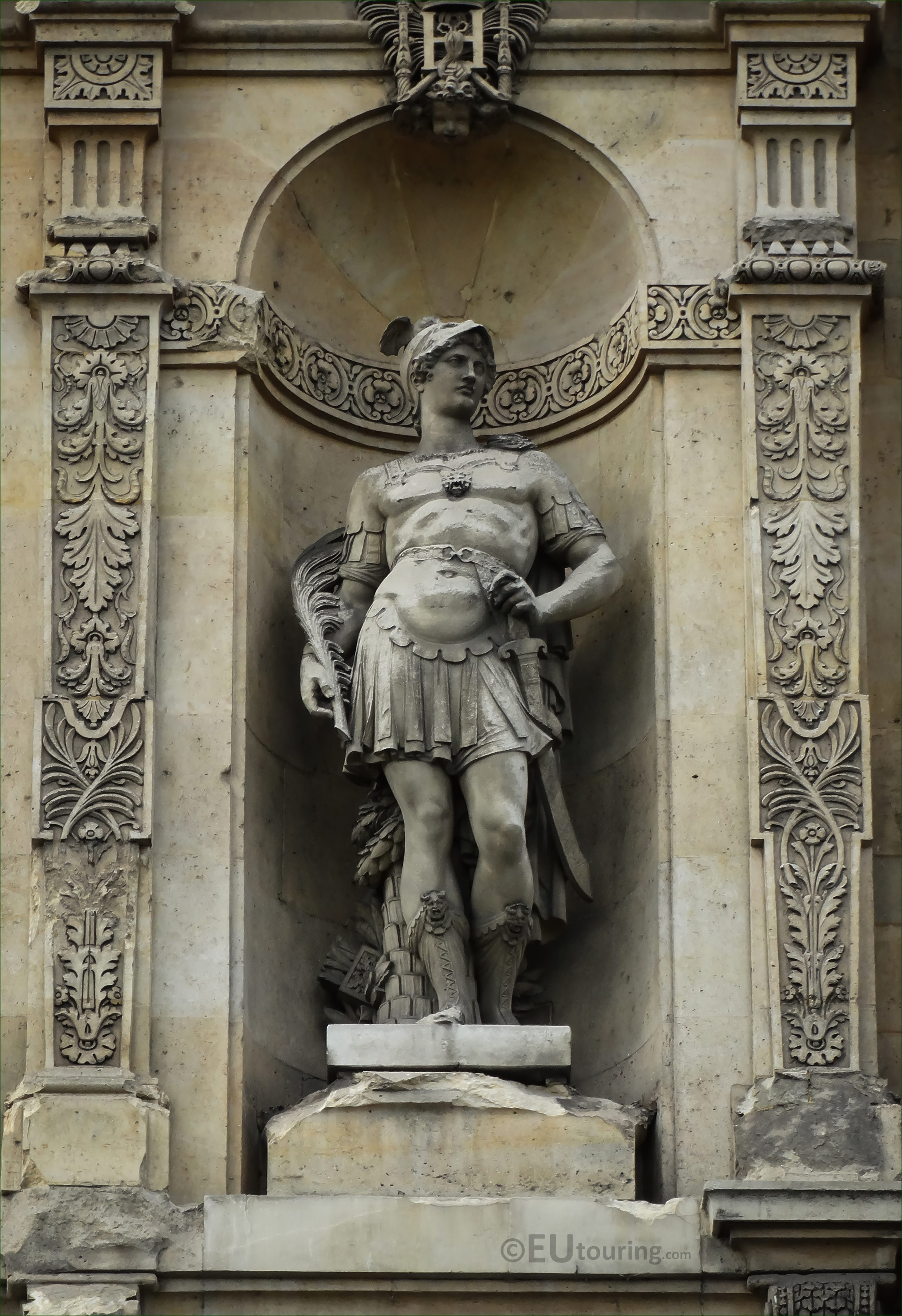 Photos of Mars the God of War statue at Musee du Louvre - Page 490