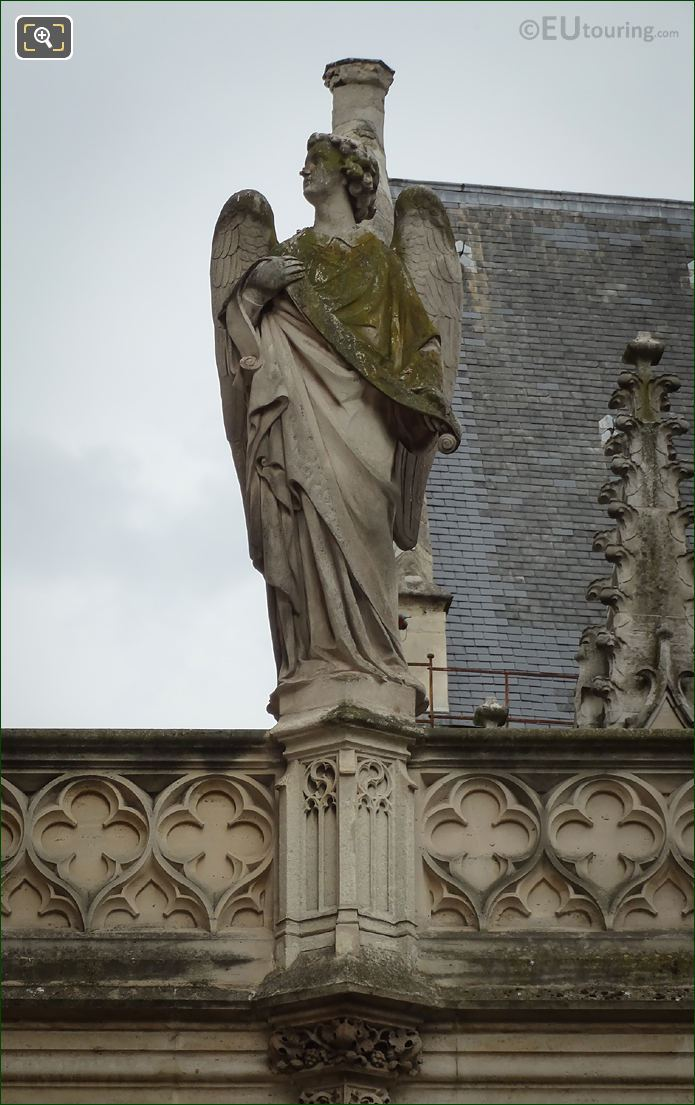 Angel Statue By Pierre Jules Cavelier