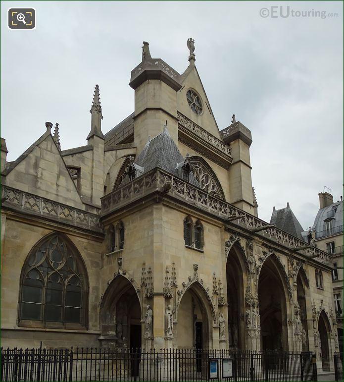 West Facade Of Eglise Saint-Germain l'Auxerrois