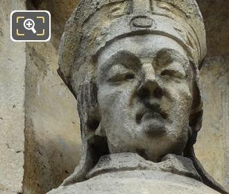Saint Ceran Statue By French Sculptor Louis Desprez
