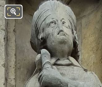 Saint Germain Statue By French Sculptor Louis Desprez