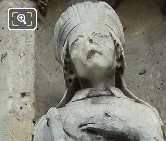 Saint Marcel Statue By French Sculptor Louis Desprez