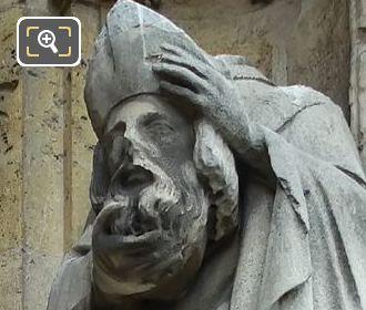 Saint Denis Statue By French Sculptor Louis Desprez