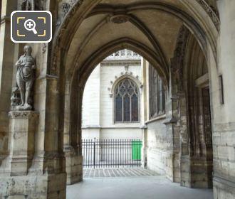 Eglise Saint-Germain l'Auxerrois Arched Porch