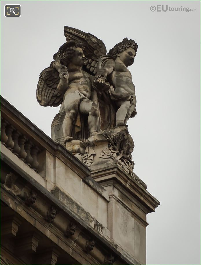 Le Commerce Et l'Agriculture Statue Musee Du Louvre