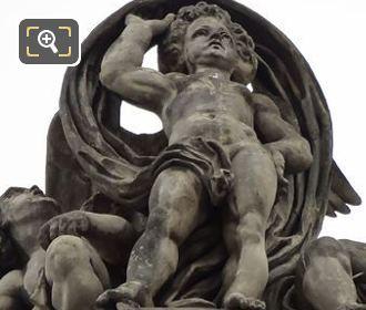 LHS Les Arts Statue By Sculptor Antoine Auguste Preault