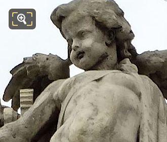 La Vapeur Statue By Sculptor Hubert Lavigne