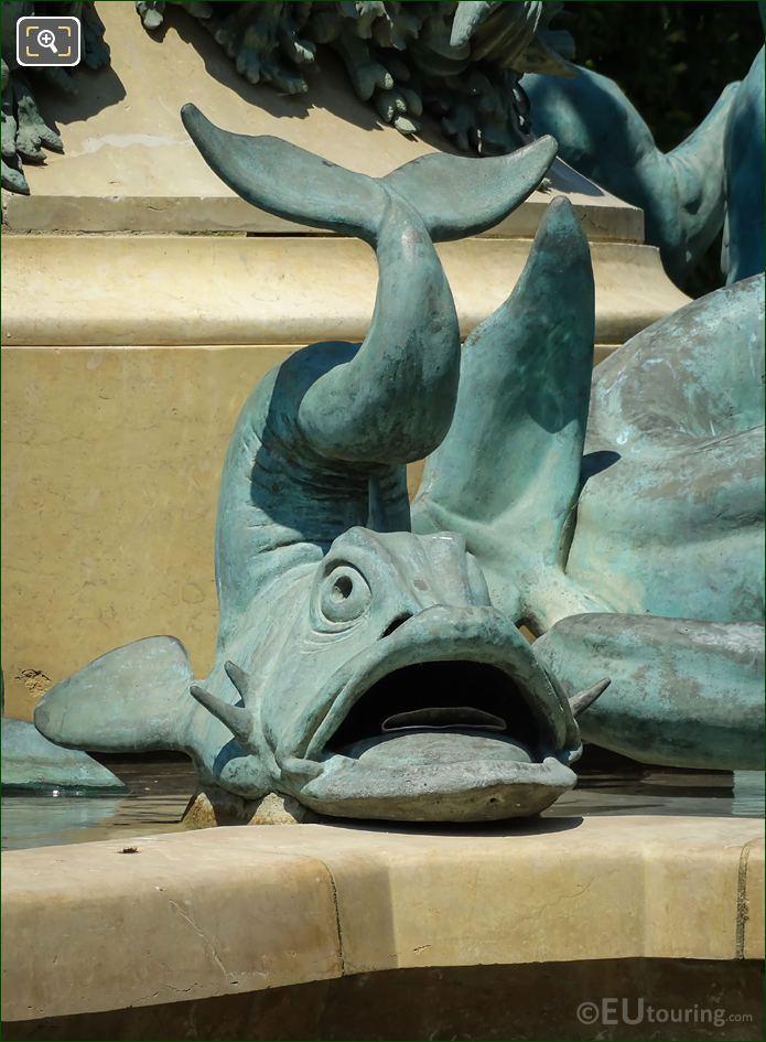 Dolphin Statue By Emmanuel Fremiet