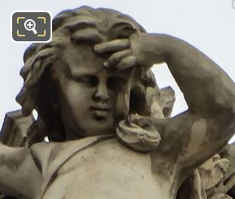 Les Beaux-Arts Statue By Sculptor Emile Marie Auguste Guillemin