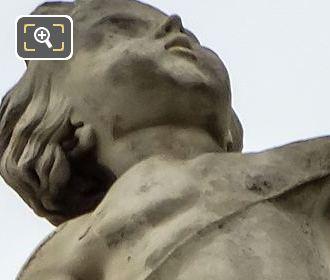 La Chasse Statue By Sculptor Auguste Jean Baptiste Lechesne