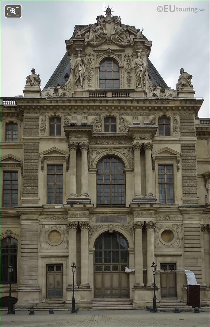 Pavillon Daru North Facade Musee Du Louvre