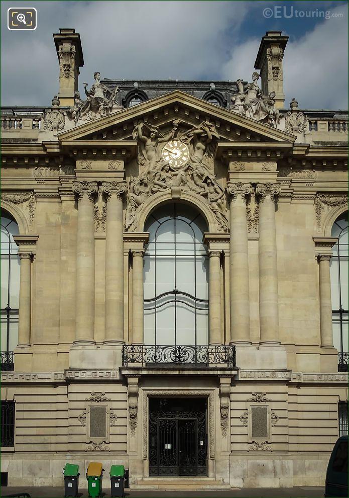 Petit Palais Eastern Facade Statues