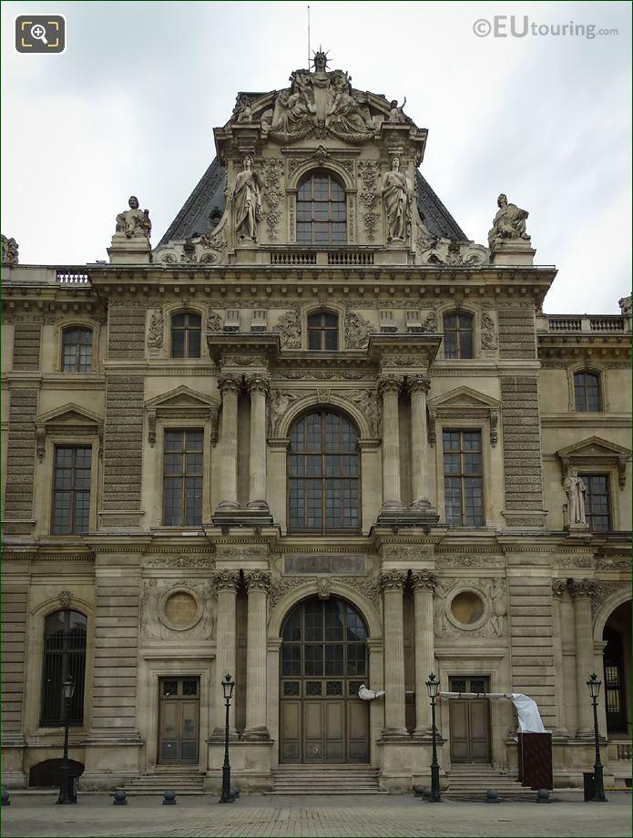 North Facade Pavillon Daru Musee Du Louvre