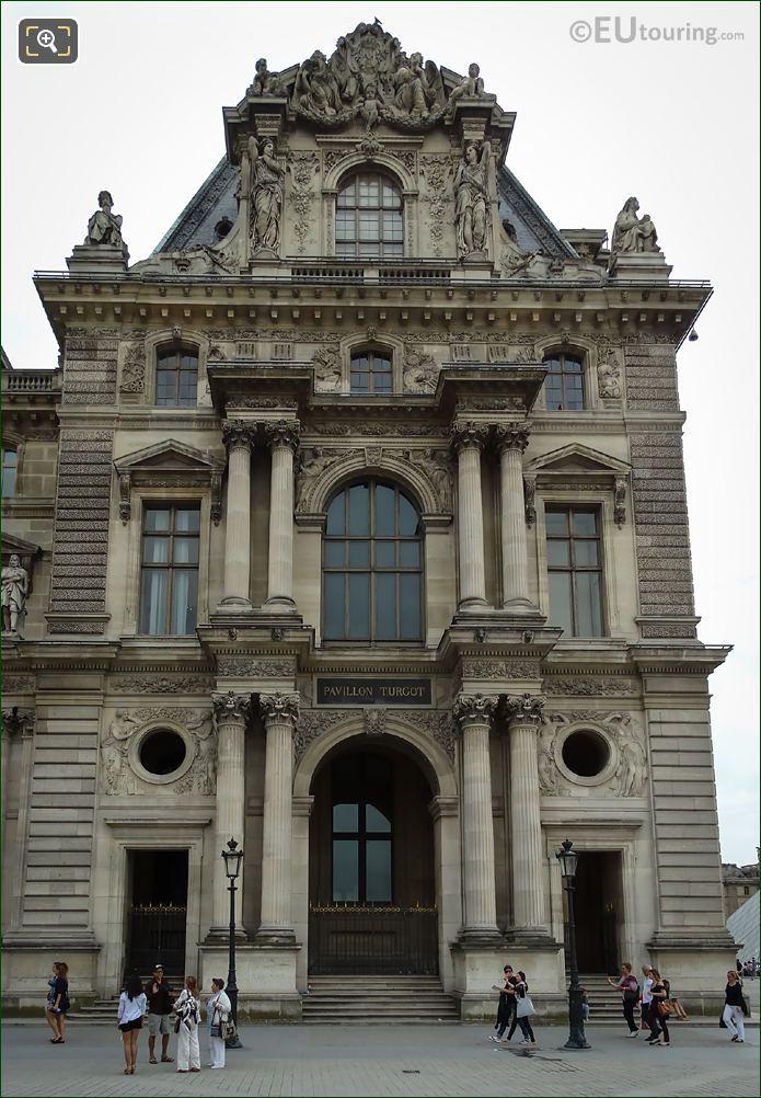 Pavillon Turgot Western Facade