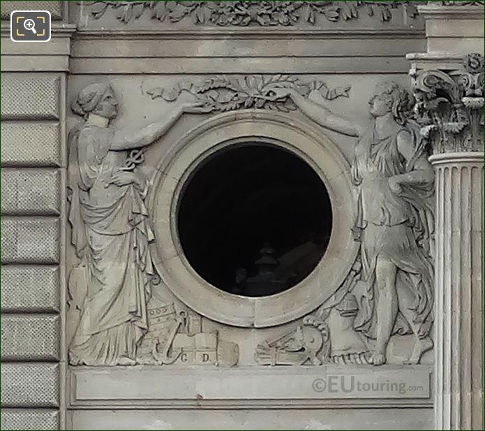 La Commerce Et La Paix Sculpture By Georges Diebolt