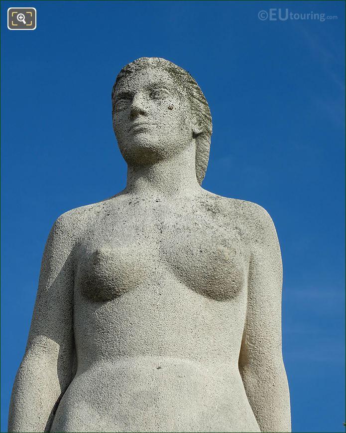 Head And Body La Femme Statue