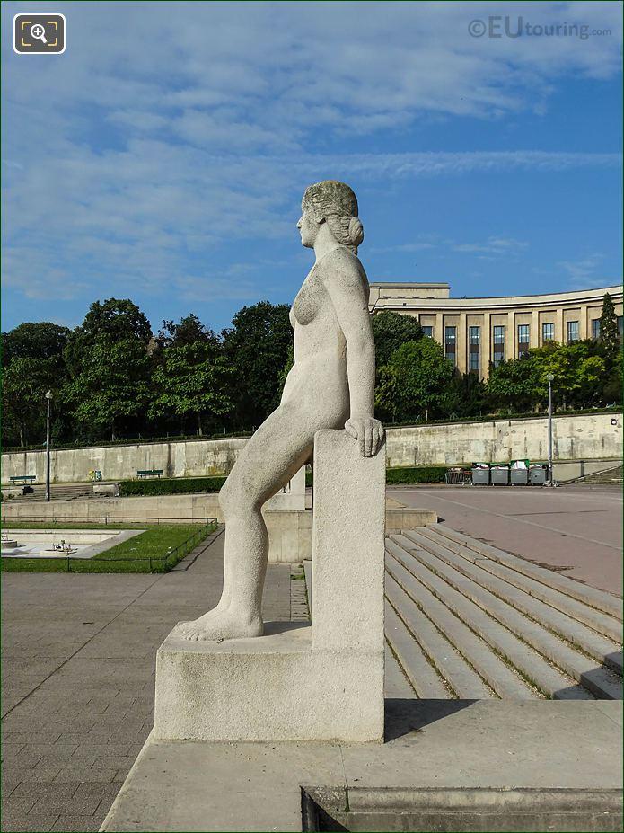 LHS Of La Femme Statue