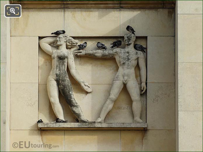 2nd Relief Sculpture Palais Chaillot Lower Facade