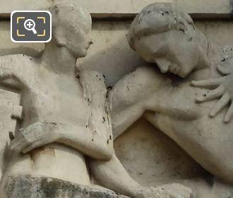 Palais Chaillot Bas Relief Sculpture By Henri Navarre