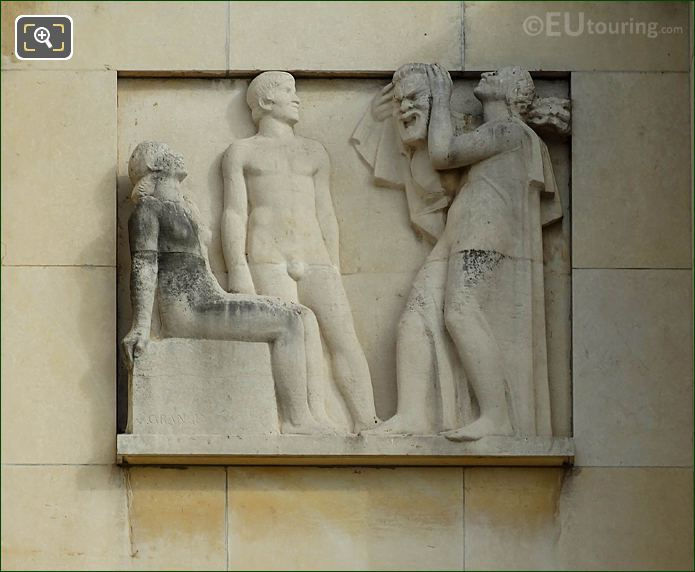 Fourth Relief Sculpture Palais De Chaillot