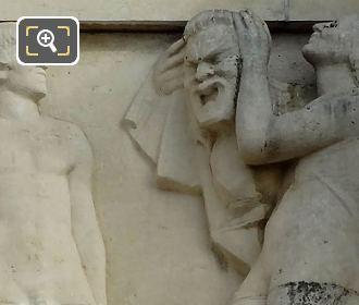 Relief Sculpture By Artist Claude Grange