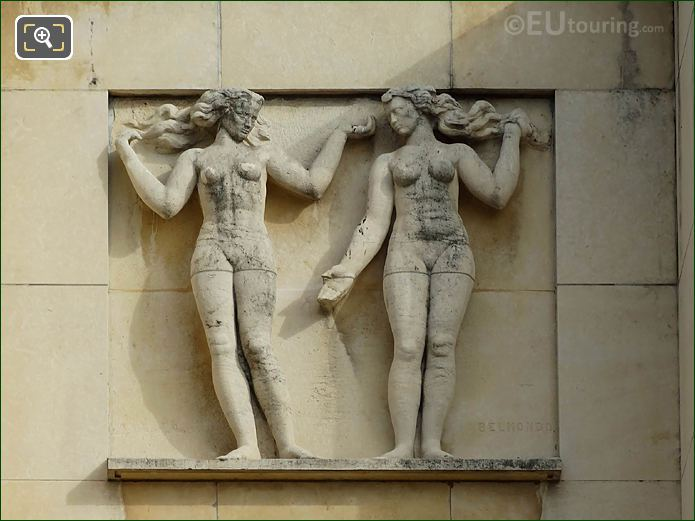 Fifth Relief Sculpture Palais De Chaillot