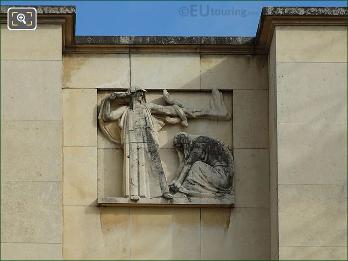 Sixth Relief Sculpture Palais Chaillot