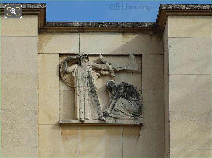 Sixth Relief Sculpture Palais Chaillot