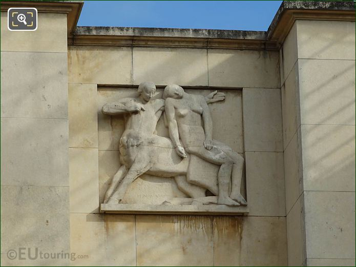 Seventh Relief Sculpture Palais Chaillot Central Wing