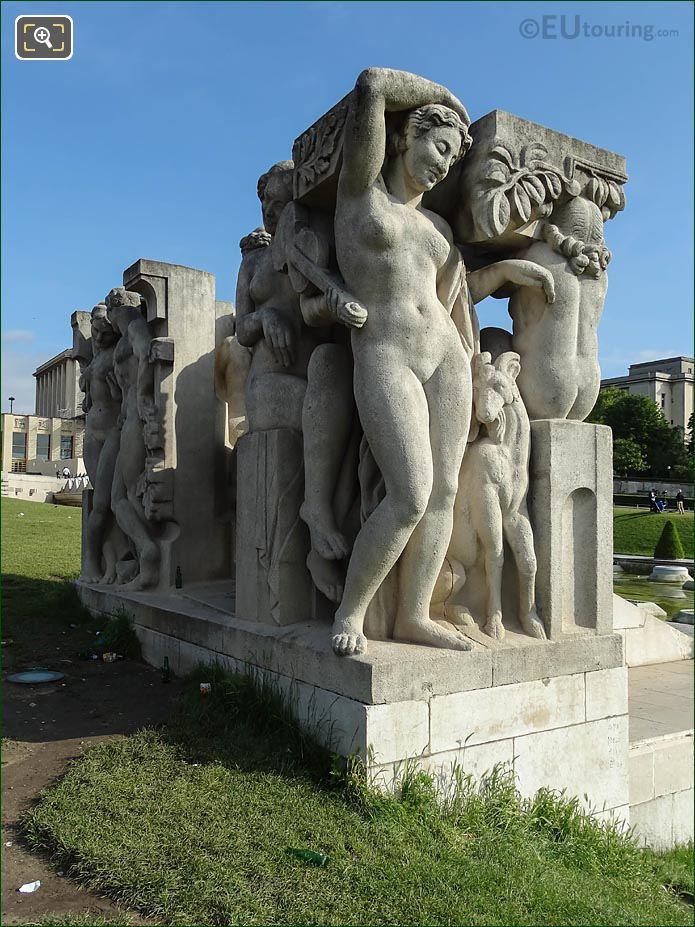 Joie De Vivre Statue By Leon-Ernest Drivier