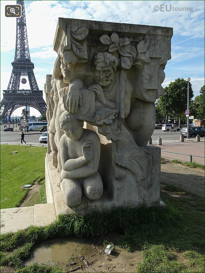 NW End La Joie De Vivre Statue Group