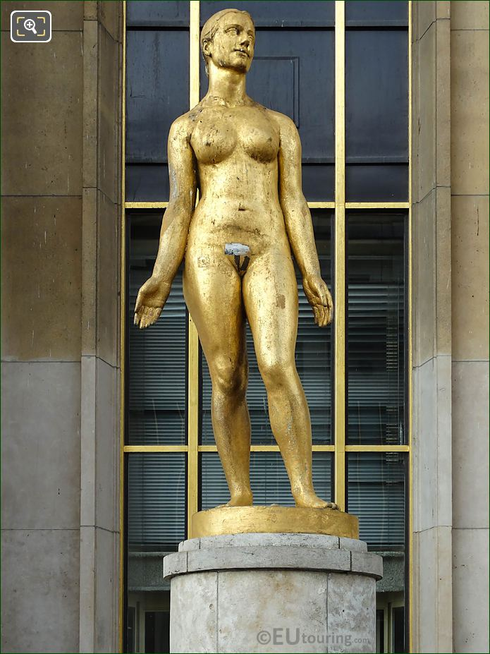 Le Printemps Statue By Artist Paul Niclausse