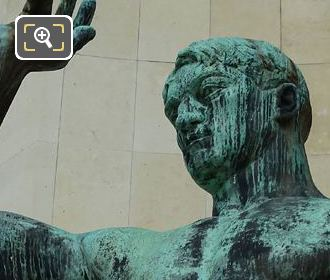 Hercules Statue Palais De Chaillot