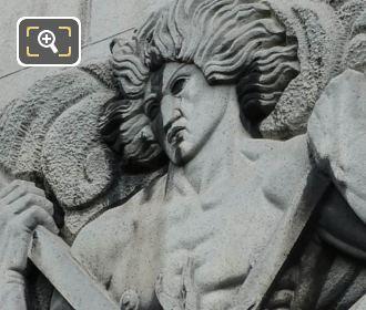 Male Figure L'Art De La Forge Sculpture Palais Chaillot