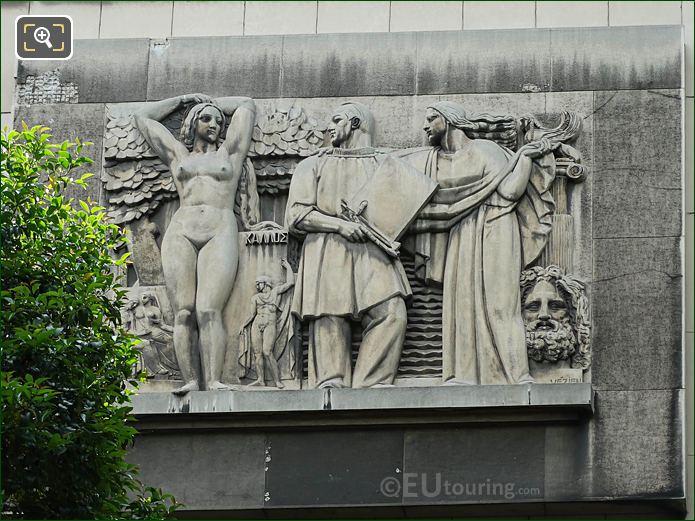 La Peinture Sculpture Palais De Chaillot NE Wing