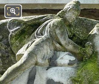 Top Female Figure On Paul Adam Monument
