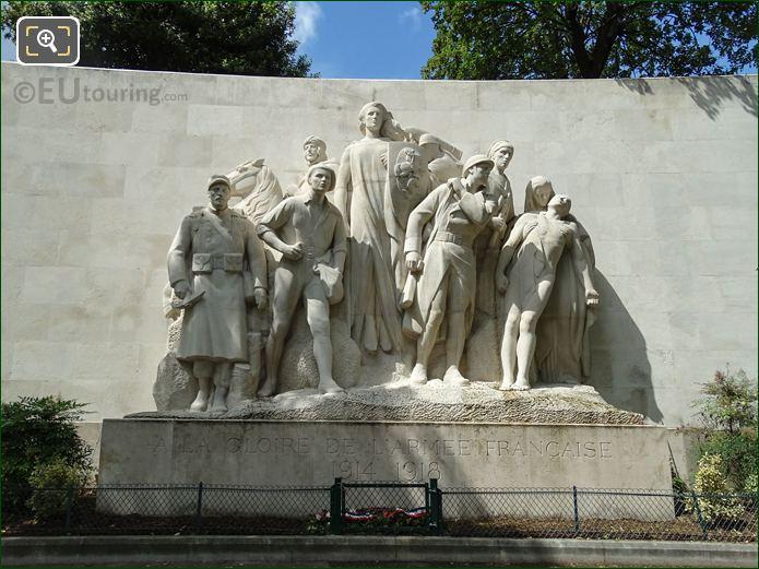 World War I Monument A La Gloire Des Armees Francaises De 1914-1918