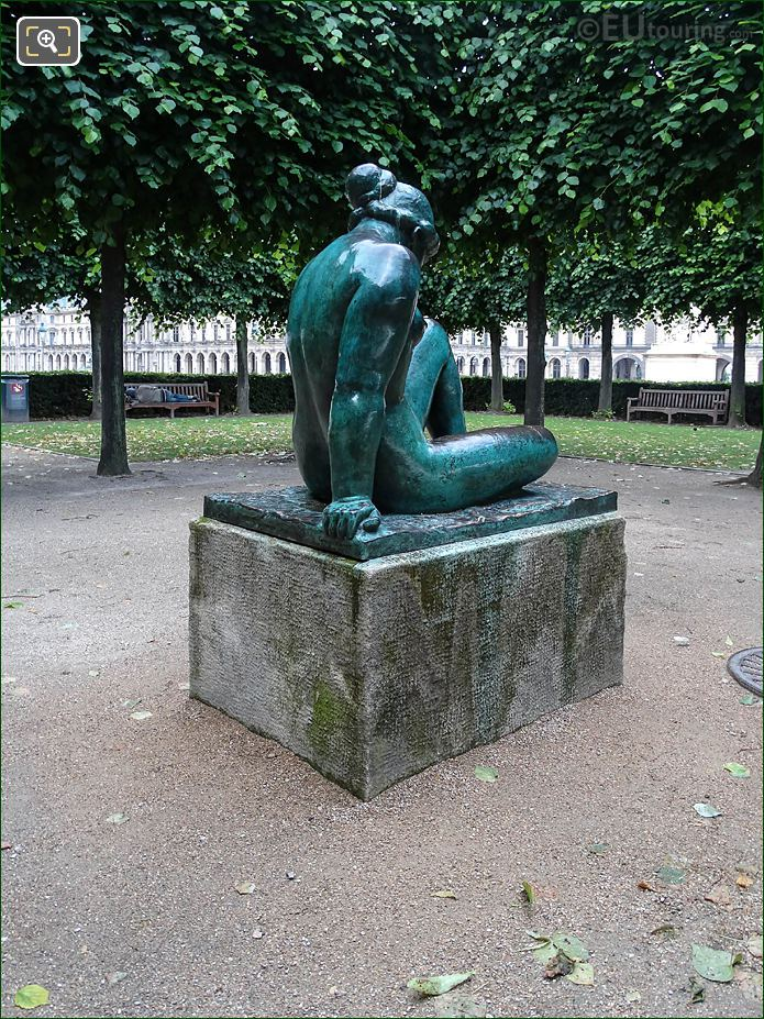 La Mediterranee Statue Back And RHS