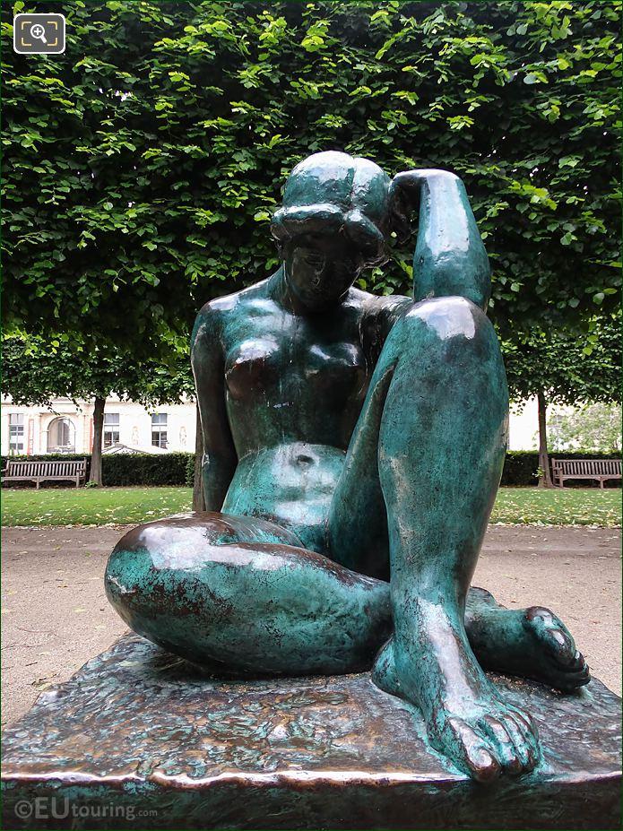 La Mediterranee Statue By Artist Aristide Maillol