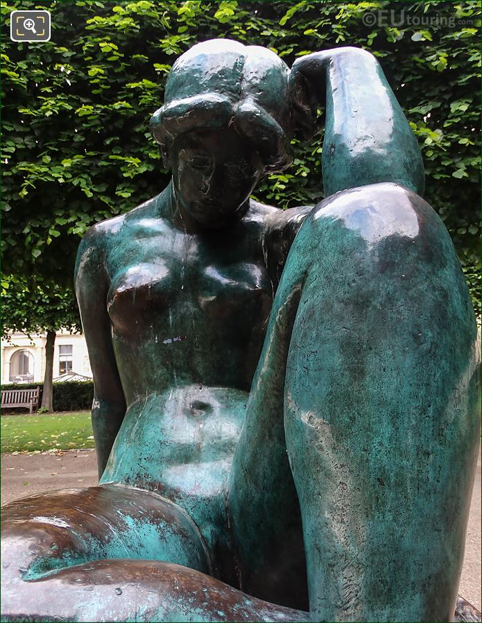 La Mediterranee Statue By Sculptor Aristide Maillol