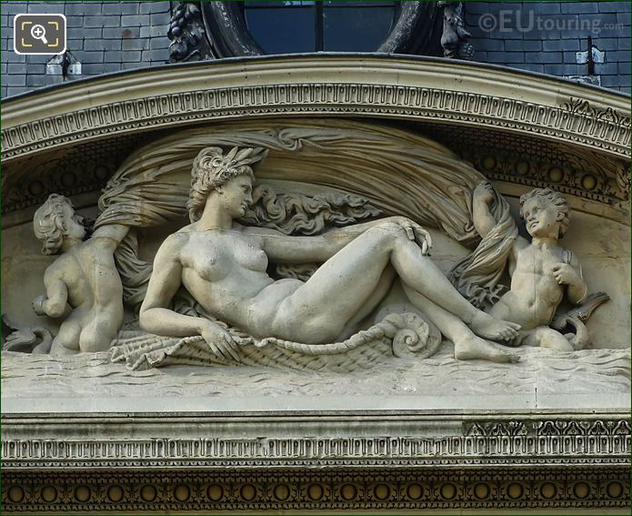 Fifth Pediment Sculpture Aile Flore
