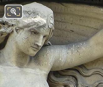 Pediment Sculpture By Henri Charles Maniglier