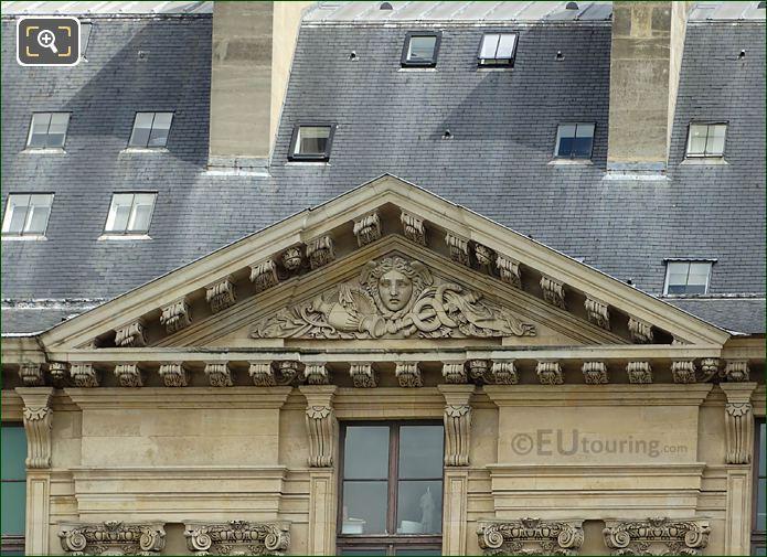 Aile Rohan Le Commerce Sculpture Musee Louvre