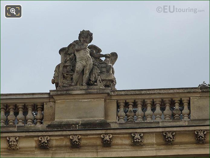 Aile Retour Turgot La Mecanique Statue Musee Louvre