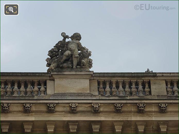 Aile Retour Turgot La Chasse Statue Musee Louvre