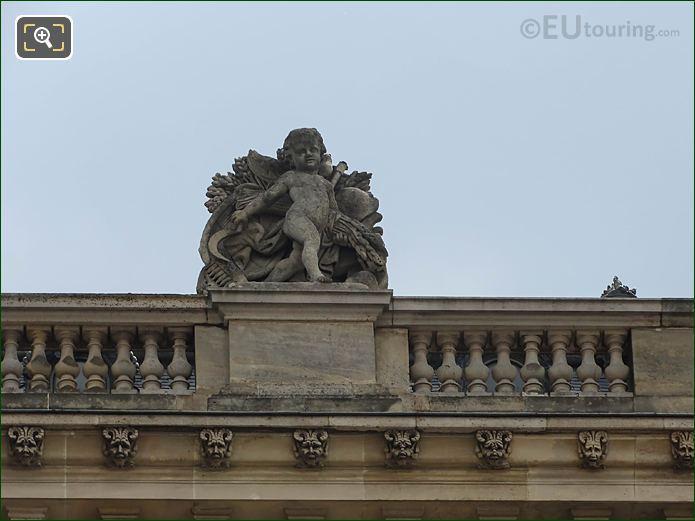 Aile Retour Turgot La Moisson Statue Musee Louvre