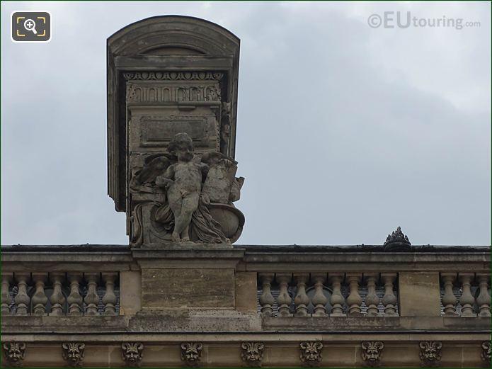 Aile En Retour Turgot L'Astronomie Statue Musee Louvre